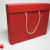 Коробка с ручками формата А4