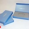 Подарочные коробки для пластиковых карт. Конструкция открывания «на магнитах»