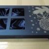 Новогодняя коробка с окошками