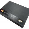 Подарочная коробка для пластиковой карты с лакировкой и трафаретной печатью