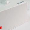 Подарочная коробка с ручками, со съемной крышкой, с картонным ложементом