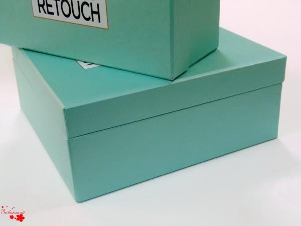 Коробка-шкатулка с зеркалом и атласом внутри