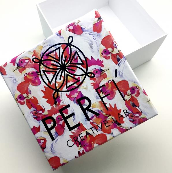 Коробка крышка-дно с цифровой печатью