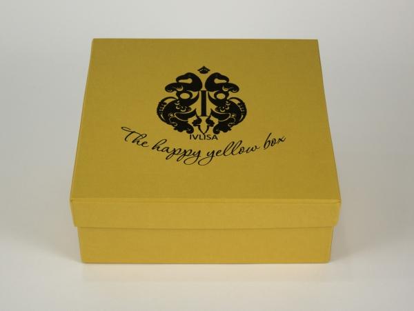 Коробка для шляпы со съемной крышкой. IVLISA