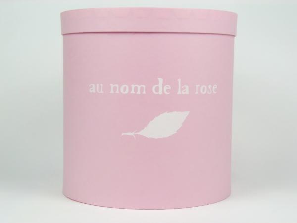 Круглые коробки для цветов au nom de la rose
