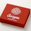 Коробка на магнитах под карту Georgina