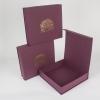 Подарункові коробки новорічні на магнітах з тисненням