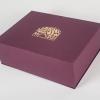 Подарочные коробки новогодние на магнитах с тиснением