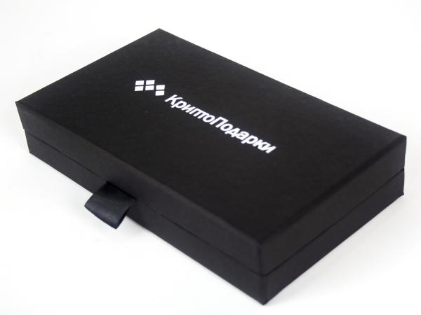 Коробка-шкатулка с ложементом из картона для сертификата