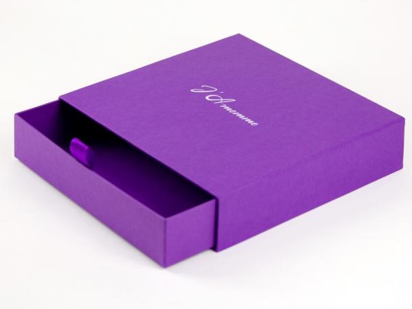 Подарочная коробка выдвижная J`Amemme