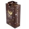 Новогодние подарочные коробки для алкоголя Belgium legend