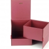 Подарочная коробка раздвижная двухуровневая для цветов. Для Avis