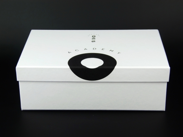 Коробка крышка-дно с трафаретной печатью для OKIS