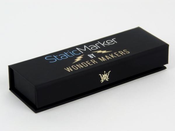 Коробки на магнитах с печатью и тиснением для @wondermakers