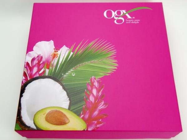 Подарочные коробки с УФ-печатью для ogx