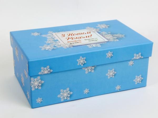 Новогодние подарочные коробки для Минфина