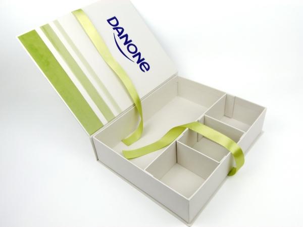 Коробка на лентах для ДАНОН