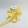 Лента декоративная матовая «мятый целлофан» бежевого теплого цвета, ширина 12 см. Цена за метр