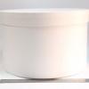 Діаметр 39 см, висота 25 см Кругла коробка. Колір білий