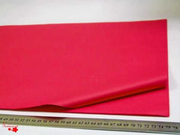 Папиросная бумага тишью 50*75 см. Цвет: малиновый (код 2190)