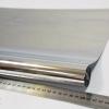 Однотонна плівка фольга для упаковки подарунків 60см на 24м. металевого кольору