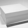 Подарочная коробка. Цвет белый. Размер: 20х17х9 см