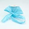 Лента декоративная матовая «мятый целлофан» голубого цвета. Моток 12 см на 100 метров.