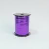 Лента металлизированная для упаковки подарков и цветов 0,5 см. 125 м. Цвет: фиолетовый