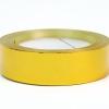 Стрічка металізована   для упаковки подарунків і квітів  3 см на 32 м. Колір золотистий