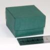 Розмір 6х6х4 см. Коробка зі з`ємною кришкою. Колір зелений