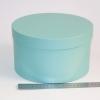 Діаметр 22 см, висота 13 см Кругла коробка. Колір: бірюзовий
