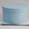 Діаметр 22 см, висота 13 см Кругла коробка. Колір: блакитний