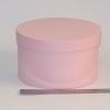 Діаметр 22 см, висота 13 см Кругла коробка. Колір: рожевий