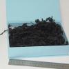 Наповнювач у подарункові коробки. Об `єм у розпушеному вигляді 1,5 літри. Колір: чорний № 602