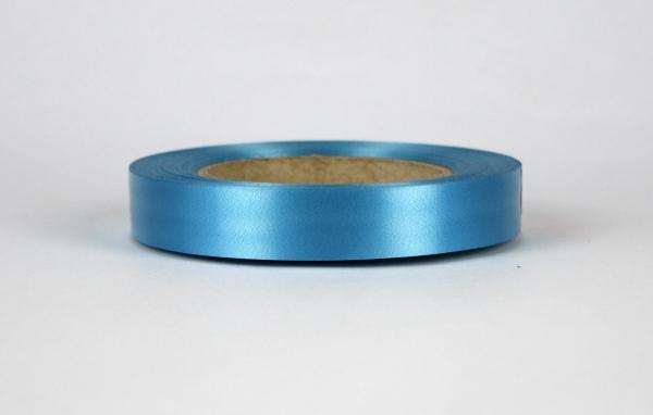 Лента полипропиленовая для упаковки подарков и цветов 2см на 50м. Цвет: темно-бирюзовый
