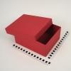 Размер 22х18х10 Коробка со съемной крышкой. Цвет красный.
