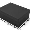 Подарочная коробка со съемной крышкой. Цвет черный. Размер 33*26*12 см