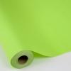 Колір салатовий неон. Однотонний папір для подарунків. Рулон 70 см на 10 м