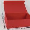 Размер 45х25х15 см Коробка с магнитным креплением. Цвет красный.