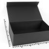 Размер 45х25х15 см Коробка с магнитным креплением. Цвет черный