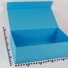 Размер 45х25х15 см Коробка с магнитным креплением. Цвет голубой.