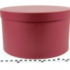 Діаметр 35 см, висота 20 см Кругла коробка. Колір бордовий