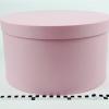 Діаметр 35 см, висота 20 см Кругла коробка. Колір рожевий
