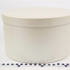 Діаметр 35 см, висота 20 см Кругла коробка. Колір бежевий