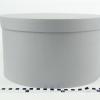 Діаметр 35 см, висота 20 см Кругла коробка. Колір сірий