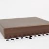 Размер 22,5х16,5х4 см Подарочная коробка со съемной крышкой. Цвет бронзовый