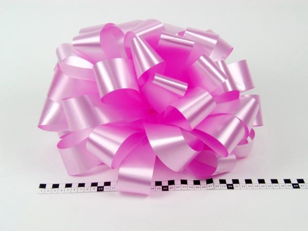 Бант для подарка. Диаметр 35 см. Цвет розовый