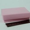 Розмір 10х7х3 см. Коробка зі з`ємною кришкою. Колір рожевий