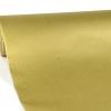 Цвет зототистый. Однотонная бумага для подарков. Рулон 70 см на 10 м