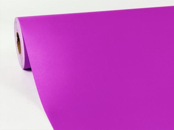 Цвет сиреневый. Однотонная бумага для подарков. Рулон 70 см на 10 м
